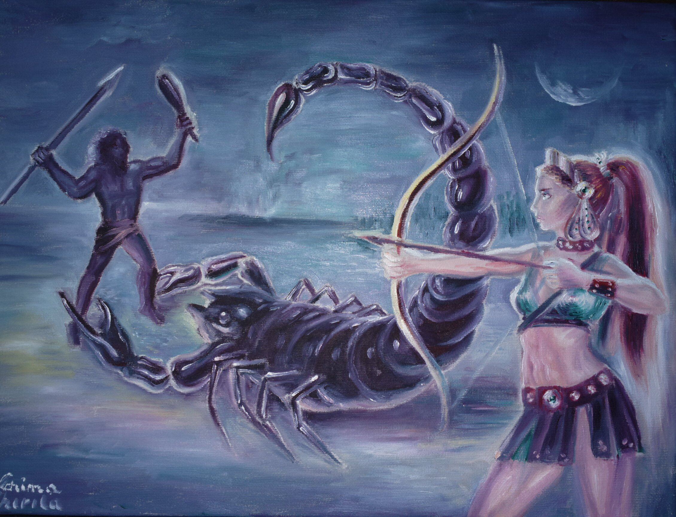 karma in the myth of orion in greek mythology Who is the god of medicine in greek mythology follow  6 answers 6 report abuse .